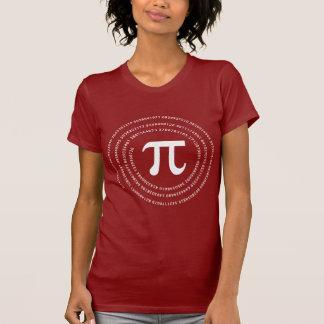 Pi Number Design T Shirt