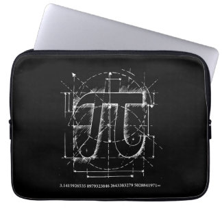 Pi Number Drawing Computer Sleeve