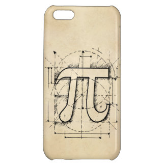 Pi Number Drawing iPhone 5C Case
