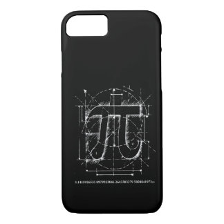 Pi Number Drawing iPhone 7 Case