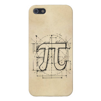 Pi Number Drawing iPhone SE/5/5s Case
