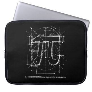 Pi Number Drawing Laptop Computer Sleeve