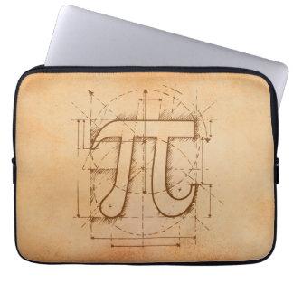 Pi Number Drawing Laptop Sleeves