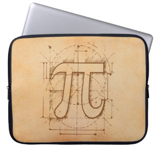 Pi Number Drawing Laptop Sleeve