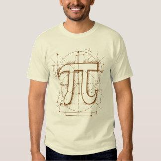 Pi Number Drawing T-shirt