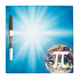 Pi Number on Earth | Dry Erase Board