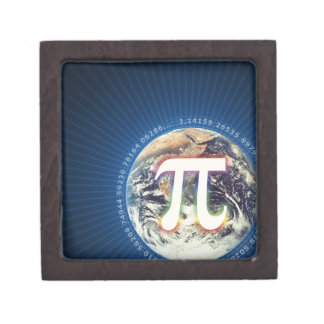 Pi Number on Earth   Geek Gift Box