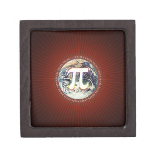 Pi Number on Earth   Gift Box