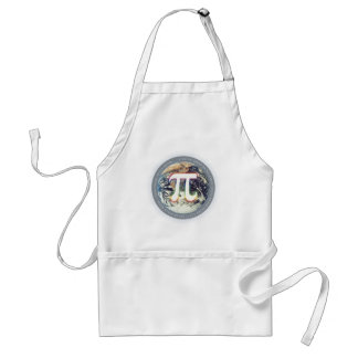 Pi Number on Earth - math apron