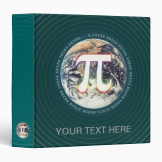 Pi Number on Earth - math binder