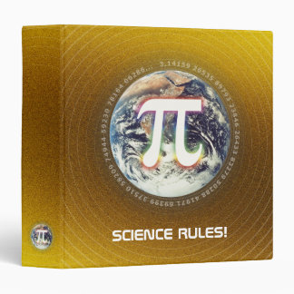 Pi Number on Earth | nerd gold math binder