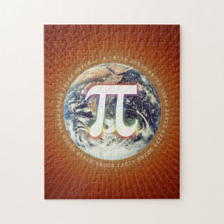 Pi Number on Earth | Puzzle