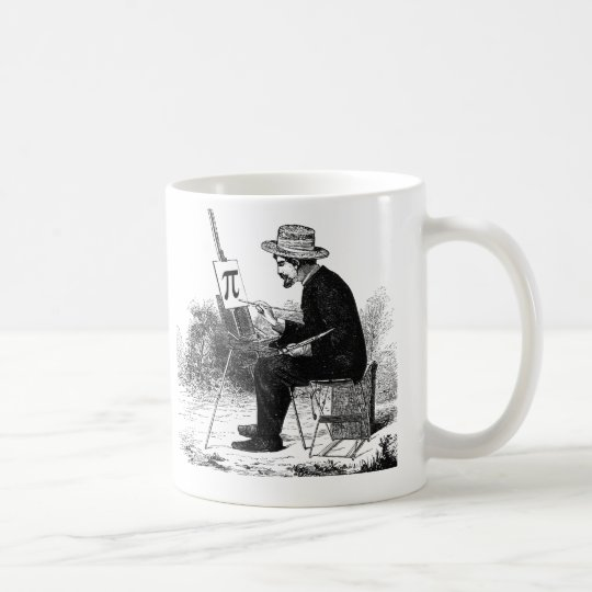 Pi Number Painting Coffee Mug