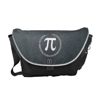 Pi Number Symbol Courier Bag