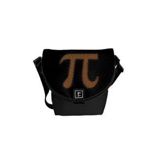 Pi Number Symbol Messenger Bags