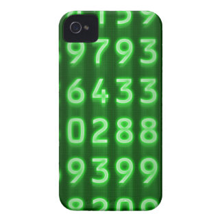 Pi Numbers Blackberry Case