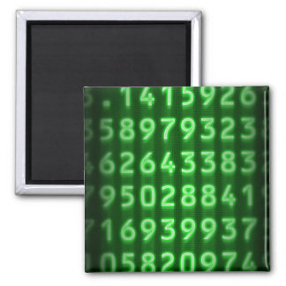 Pi Numbers Magnet