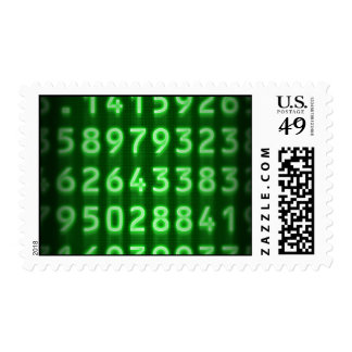 Pi Numbers Postage Stamps