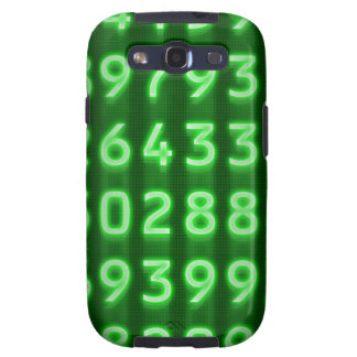 Pi Numbers Samsung Galaxy Case Galaxy SIII Cover