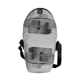 Pi on a Silver Platter Courier Bag
