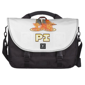 PI ON FIRE - PI DAY LAPTOP BAGS