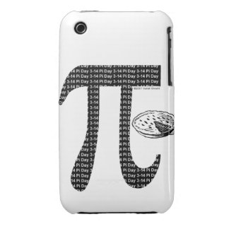 Pi One Pie iPhone 3 Covers