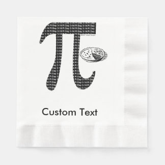 Pi One Pie Coined Luncheon Napkin