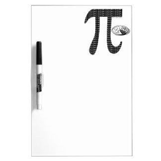Pi One Pie Dry-Erase Board