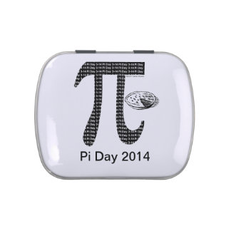 Pi One Pie Jelly Belly Candy Tin