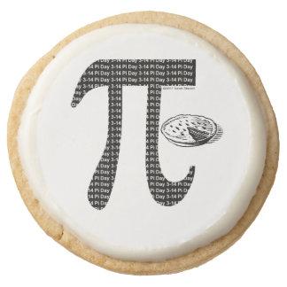 Pi One Pie Round Premium Shortbread Cookie