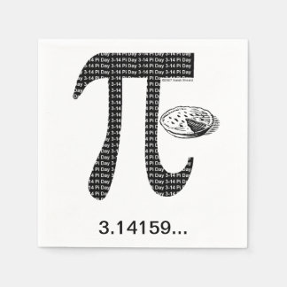Pi One Pie Napkin