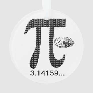 Pi One Pie Ornament