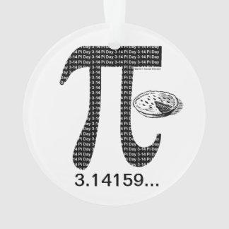 Pi One Pie Ornament