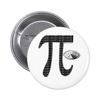 Pi One Pie Pinback Button