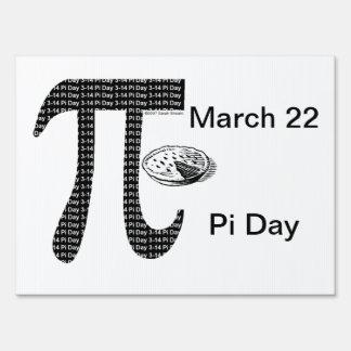 Pi One Pie Sign