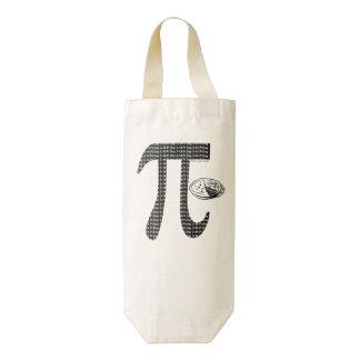 Pi One Pie Zazzle HEART Wine Bag