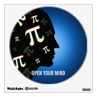 Pi - Open Your Mind   Wall Decals