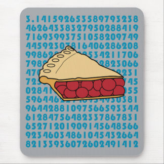 Pi or Pie? Mouse Pad