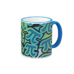 Pi Party Ringer Coffee Mug