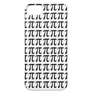 Pi Pattern Black iPhone SE/5/5s Case