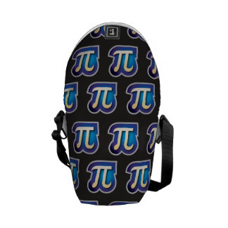 pi pattern courier bags