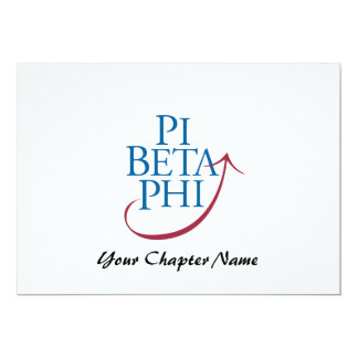 Pi Phi Logo Card