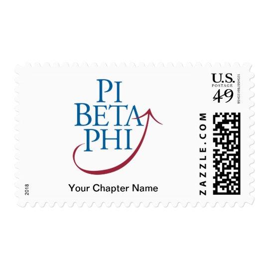 Pi Phi Logo Postage