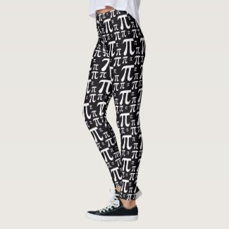 Cool pi leggings math STEM girl gift