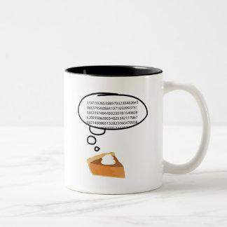 Pi Pie 3.14 Two-Tone Coffee Mug
