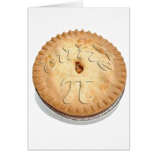 PI PIE CRUST -Cutie Pie - Celebrate Pi Day! π Greeting Cards