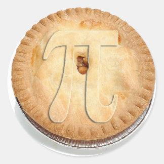 PI PIE CRUST -Cutie Pie - Celebrate Pi Day! π Classic Round Sticker