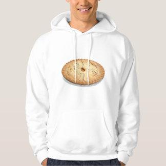 PI PIE CRUST -Cutie Pie - Celebrate Pi Day! π Hoodie