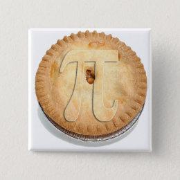 PI PIE CRUST! Cutie Pie - Celebrate Pi Day! π Pinback Button
