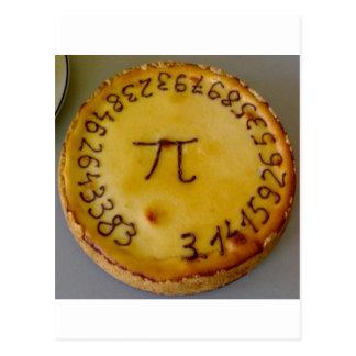 Pi Pie Postcard